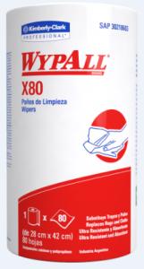 WYPALL X80 BLANCO 6BOB X 80PAÑOS (8603)