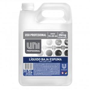 UNI PROFESIONAL JABON LIQUIDO BAJA ESPUMA 5 LT