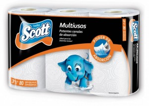 ROLLO COCINA SCOTT 8X3X80 PAÑOS (6625)