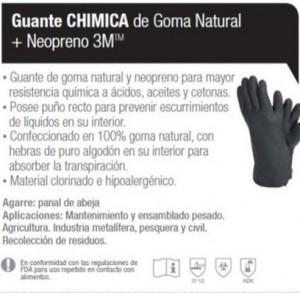 GUANTES 3M CHIMICA