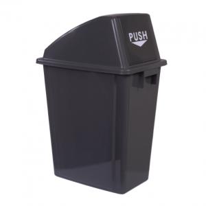 CESTO C/TAPA PUSH X 60 L (5660)