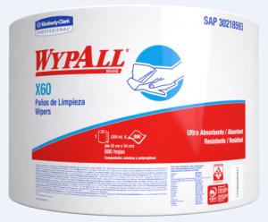WYPALL X60 JUMBOROLL X 890 PAÑOS (7836)