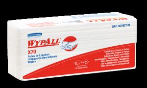 PAÑO WYPALL X70 INTERFOL 42X25CM PQ X 50U(2199)