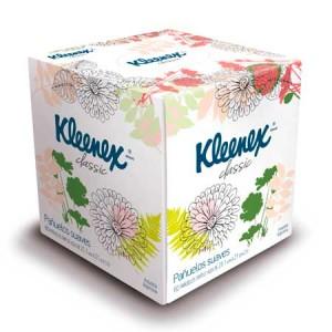 PAÑUELOS TRIPLE HOJA KLEENEX BOX X60U