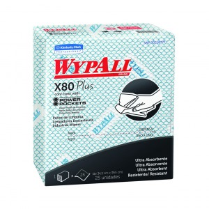 PAÑO WYPALL X80