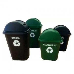 CESTO RECICLABLES BASURA 24 LT (BK5624T)